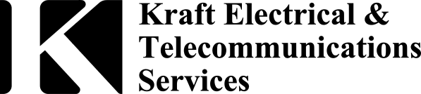 Kraft Electrical and Telecommunications Logo black